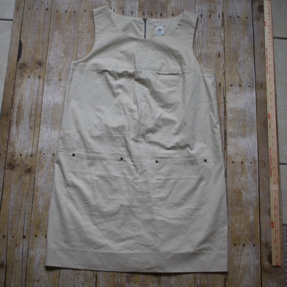J. Crew Dresses & Skirts - J. Crew Urbanite Shift Lined Jumper Dress EUC